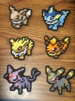Pokemon Sprites - Eevee and Evolutions by UWorlds