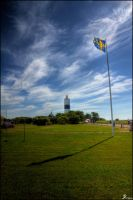 Sweden in the wind by Chribba