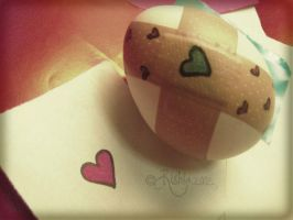 Heart of an Egg by Rishia