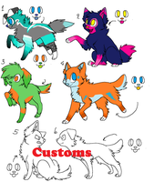 Canine Point Adopts 2 by SkylarCat