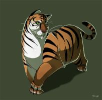 Stubby Tubby Tiger by Saetje