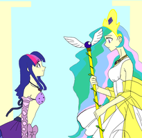 Mermaid Melody the Princess and  twilight by STITCH62633