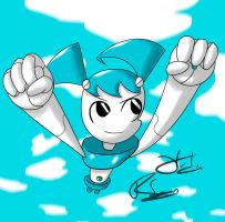 XJ9. Flying by Otakon7