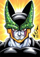 Sketch Card - Perfect Cell by gb2k