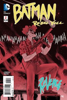 Batman Rebel Yell project - cover 2 by DenisM79