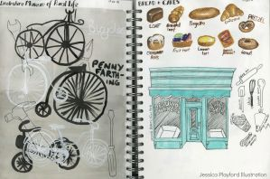 Bicycles and Bakery Observations by JessicaHPlayford