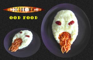 Doctor Who - Ood Food by mikedaws