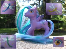 Dragonfly custom commission by o-shea