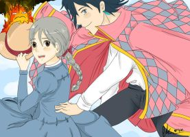 Howl's moving castle by ChocoRevolution