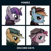 Poniez - Discord Days by Neptali54