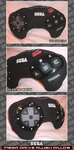 SEGA Mega Drive Plush Pillow by tavington