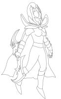 Phantom Assassin line art by Nightfury-Treann