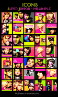 super junior - mr.simple icons by ll-Rawan-ll
