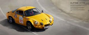 Alpine A110 by GoodrichDesign