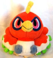 Ho-Oh Pokedoll by PokePlushProject