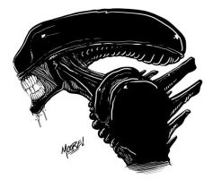 Monster Jams - Xenomorph by SeanRM