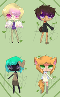 {{ Megane Adopts }} 3/4 SOLD by PiyokiAdopts