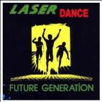 Laserdance stamp by Robot-and-Alien-Dude