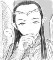 Lord Elrond by chibiaddict4ever