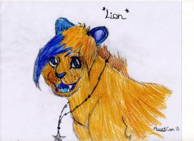 :GIFT: Lion by TLK-SIMBA-SANDSLASH