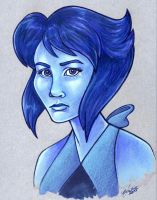 Lapis Bust by Caliosidhe