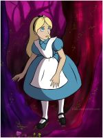 Alice in Wonderland by Irise