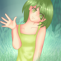 Green Girl by SnifftyGriffty