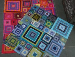 Two Quilts by LittleLucille