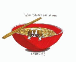 Udon by greentomatoes