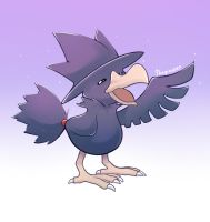 Murkrow by thegreyzen