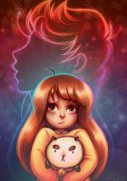 Bee and Puppycat, KPOW! by Of-Red-And-Blue