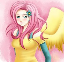 AT: Fluttershy by Quitoxica