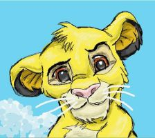 Simba Sketch2 by Discombobulated1