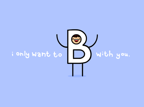 i only want to B with you by sooperdave