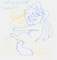 Happy Birthday Stephy by AskPewDie-The-Cat