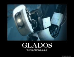 Glados and her Testing by charlsiecf