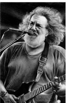 Jerry Garcia by Dead-Beat-Nick