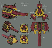 Hydra Concept by GraphyteRonin