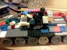 the inside of the ISK-1 heavy tank by ace00004