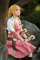 Zelda: Headmaster's Daughter by bekalou-cosplay