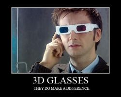 3D Glasses by 7onely5hadow