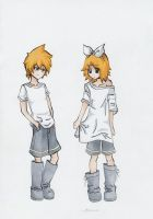 Kagamine -Too big clothes- by NostalgicMusic
