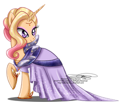 Commission - Gala Gown for Starstruck by selinmarsou