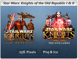Star Wars KotOR - Icon Pack by Crussong