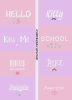 Pack de Fonts by sweetnessbitch