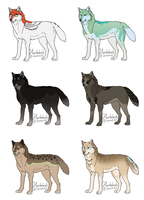Wolves Adopts 2 by Ouivon