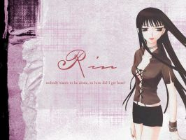 Rin Sohma - Loneliness by TheFallingSnow