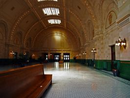 Union Train station by Mackingster