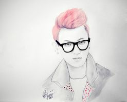 zitao 30 mins sketch by e11ie