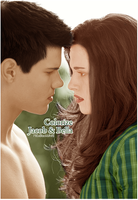 Colorize Jacob e Bella by MissBlackWhite